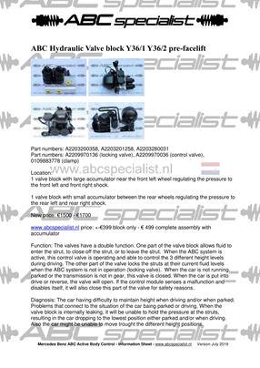 Gespecialiseerd in Audi, BMW en Mercedes-Benz hydraulische